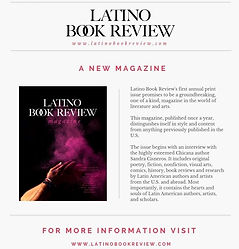 Revista anual LATINO BOOK REVIEW con distribución en Estados Unidos.