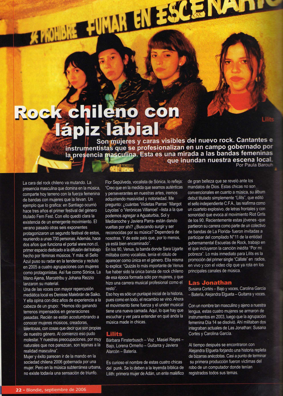 Artículo escrito para la revista.