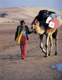 Rory Russell, Morocco, 1983