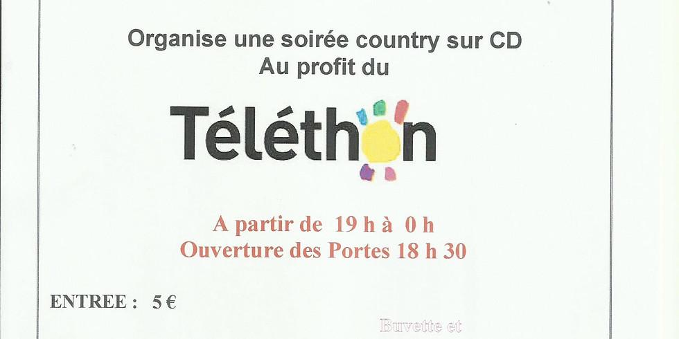 SOIREE COUNTRY AU PROFIT DU TELETHON