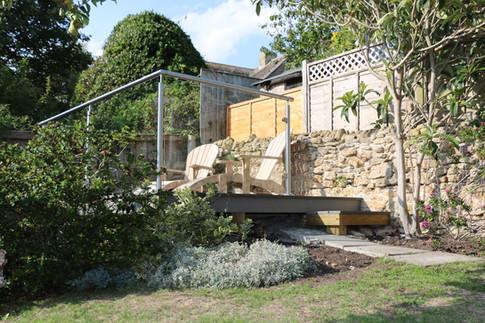 Bramble Cottage decking