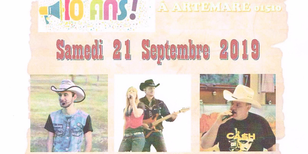JOURNEE COUNTRY CHEZ LES MUSTANGS
