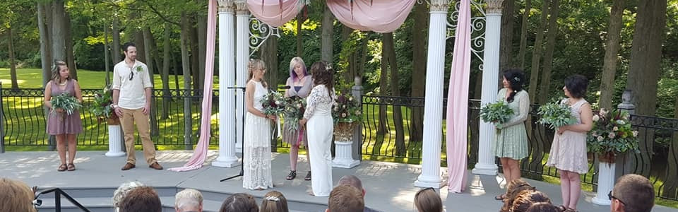 Officiant Package for weddings of any size