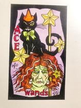 Witchy Cat Tarot / Mermaid Tarot / 2021 Calendar / Halloween Event /Nov Patron Raffle
