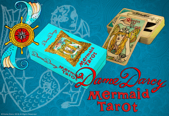 Pre-Orders Available Now for  New Mermaid Tarot Gold Edition with Box! New DD Dolls, Paintings, Prin
