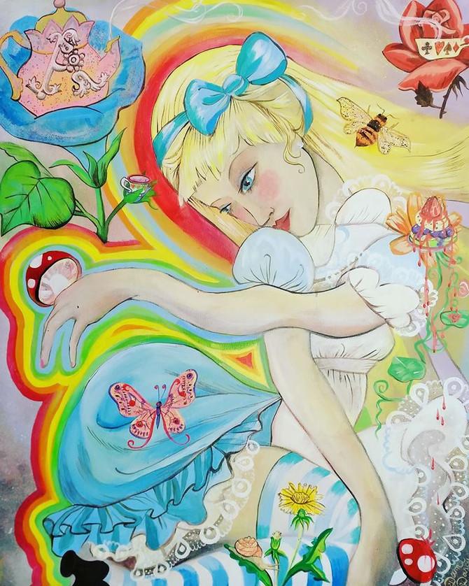 Alice Original Art to get Alice Tarot Printed!
