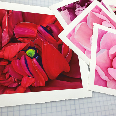 Archival Giclee Prints for LA Artist, Paige Peters
