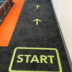 Floor Graphics for Carpets