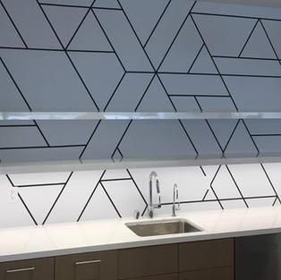 Kitchen + Bath Custom Wallcoverings