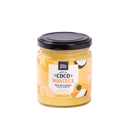 Aceite de coco sabor MANTECA 180 ml