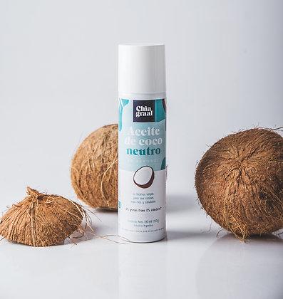 Aerosol aceite de coco neutro 190 ml