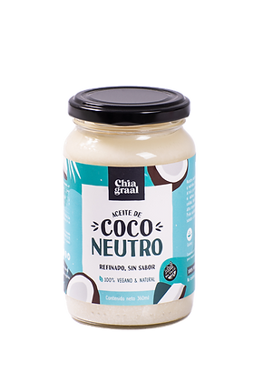 Aceite de coco neutro 360 ml
