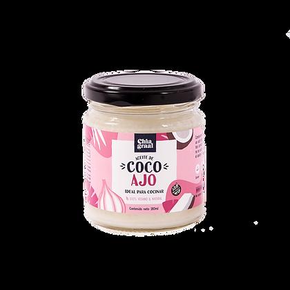 Aceite de coco sabor AJO 180 ml