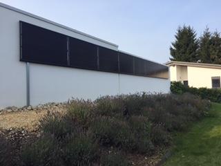 e-solaire installation, Les Bois, Jura