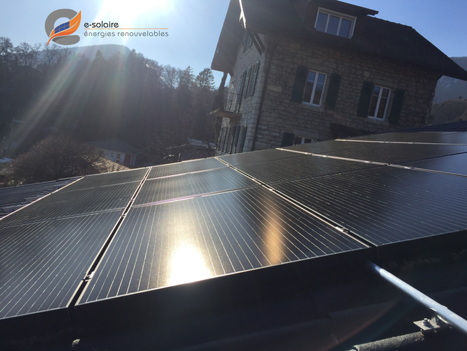 e-solaire, installation 4.65kWc micro-onduleurs iQ7 et modules Aleo X79-HE