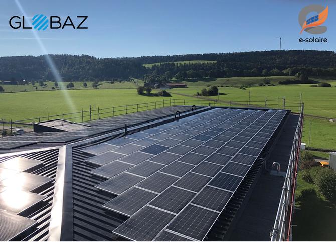 Globaz SA fait confiance à e-solaire