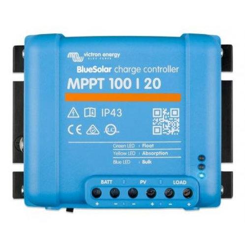 Régulateur solaire MPPT LED 20 A - 100 V