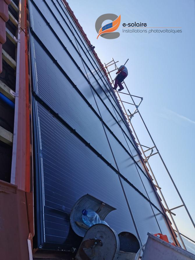 e-solaire, toujours plus haut, toujours plus beau, toujours à votre service !