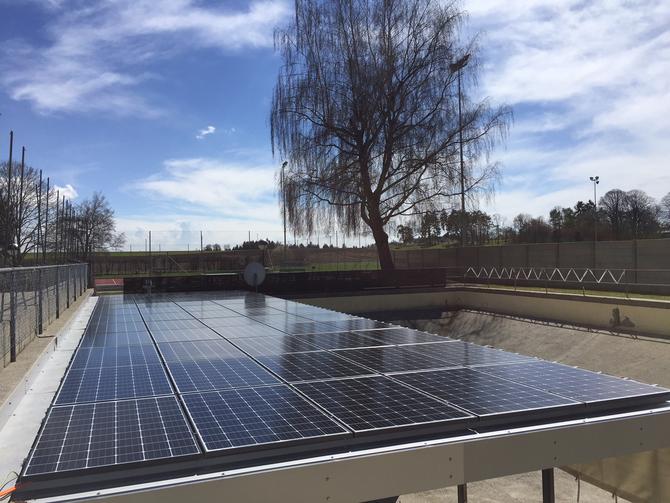 e-solaire, Installation de 28.00kWc - Avril 2018