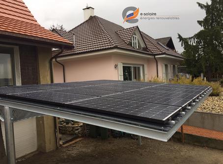 e-solaire Carport photovoltaïque