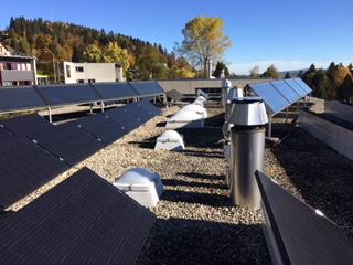 e-solaire installation La Chaux-de-Fonds