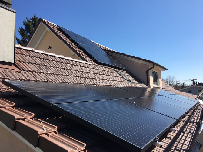 e-solaire, Installation de 7.20kWc - Avril 2018