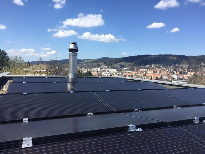e-solaire, Installation de 12.00kWc - Avril 2018