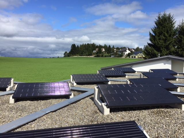e-solaire installation, Les Bois, Jura (2)