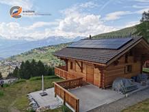 e-solaire installation Valais Juin 2019.