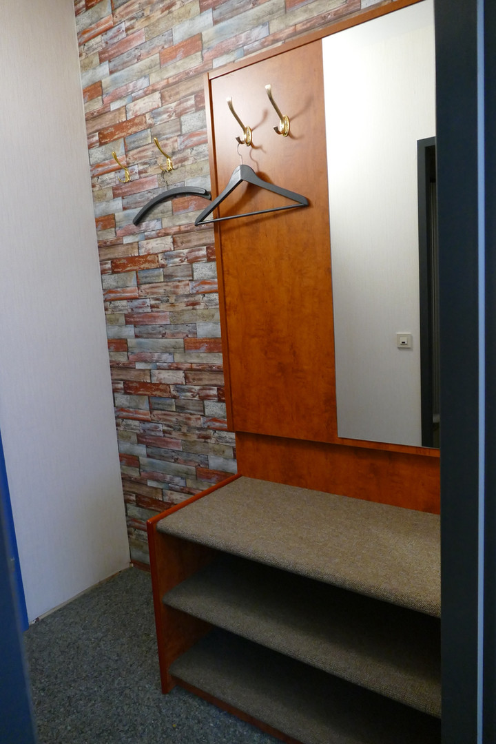 Garderobe Einzelzimmer
