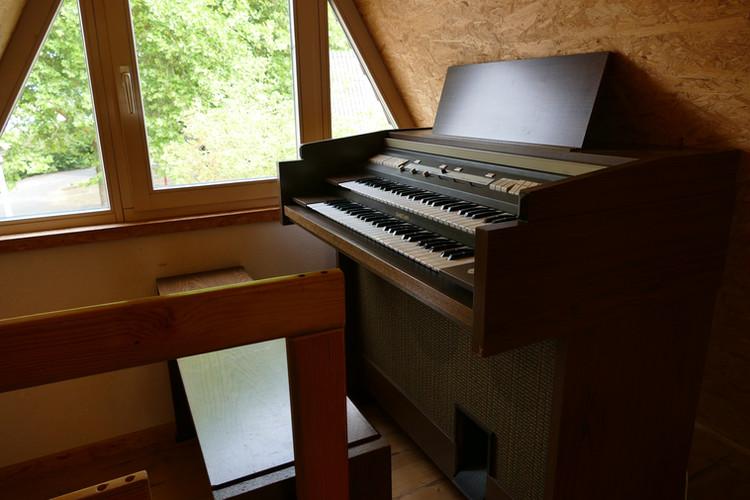 Orgel in der Kapelle