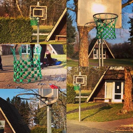 Basketballkorb im Freizeitdorf