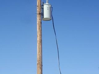 Accès au réseau électrique  pour l'école de Canaan.