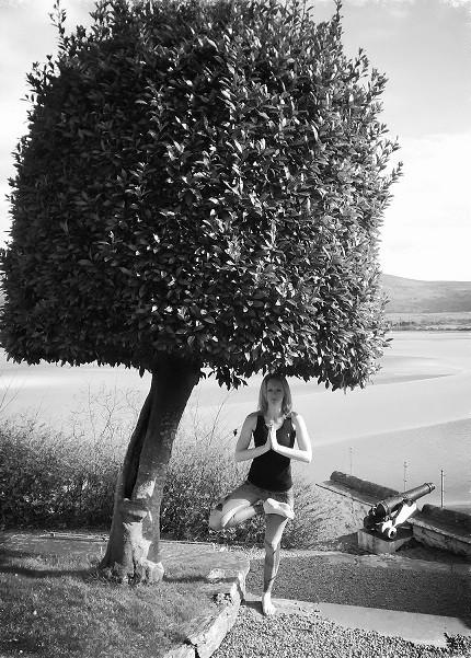 Vrksasana/Tree.....Portmeirion, North Wales.
