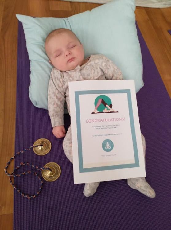 Awwww.....Yoga with Babies!