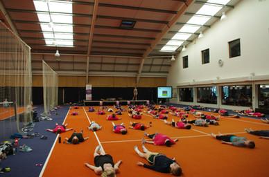 Charity Yoga.....David Lloyd, UK.