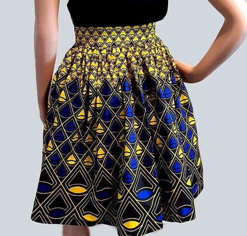 African Print Skirt for Ladies - Ankara Skirt