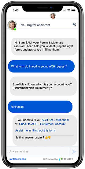 CogniCor AI Assistant