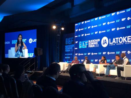 CogniCor was a panelist at the Blockchain Economic Forum, San Francisco