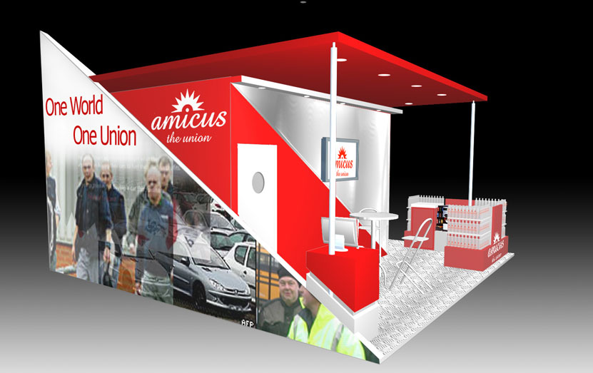 Exhibition stand for Amicus