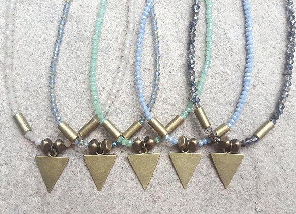 Arrow Crystal Necklaces