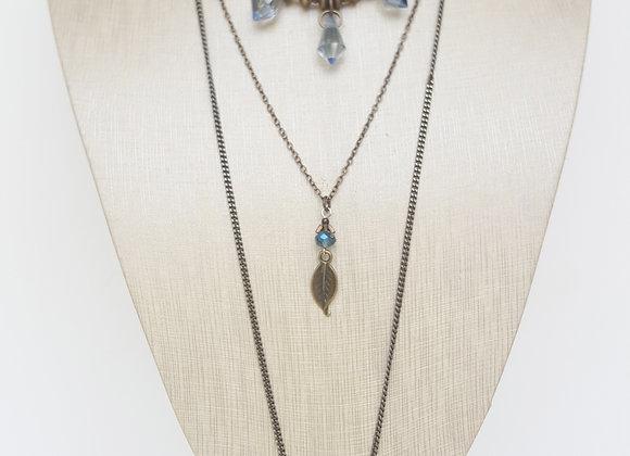 3 Layered Quartz Necklace
