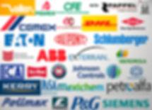 Compradores de nuestros productos en todo tipo de actividades del amplio espectro industrial.