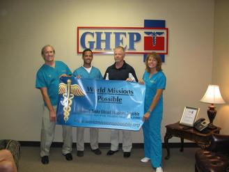 $5k Donation Received for Sierra Leone Medical Outreach From Greater Houston Emergency Physicians Gr