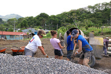 WMP Helps Costa Rica Village Construct Community Center