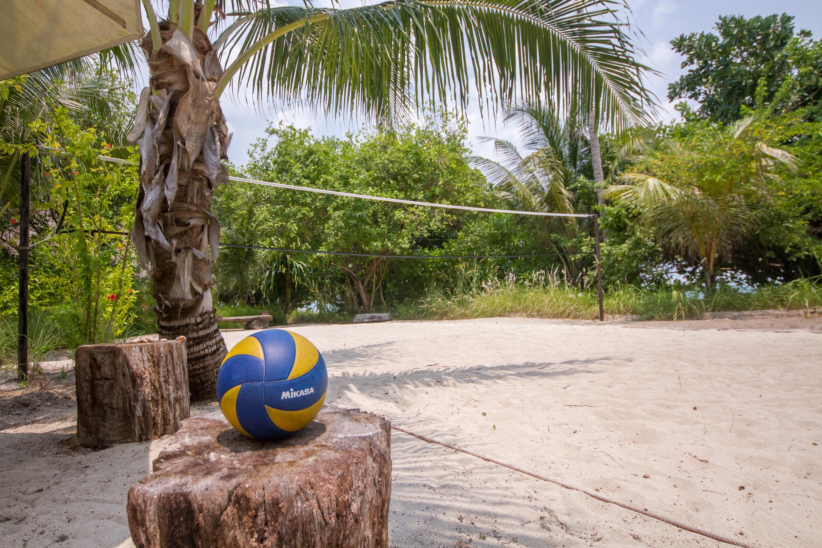 Pulau Joyo-volleyball