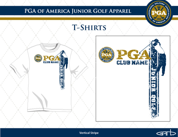 PGA Boys Tshirt Design