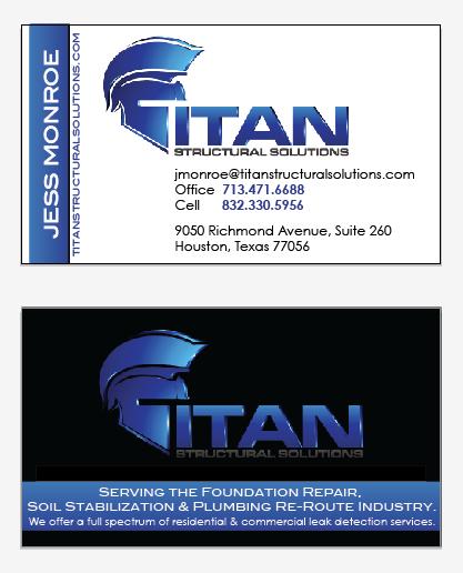 Titan Structural Solutions Business Card_Melissa D. Zier