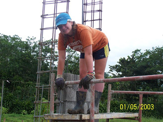 WMP Helps Build a Community Church in Costa Rica
