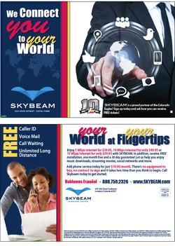 Skybeam  Postcard